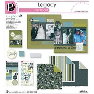 Pebbles Inc. Legacy Scrapbook 12 x 12 Page Kit
