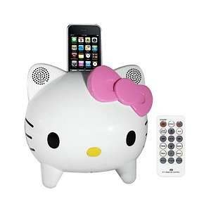 Hello Kitty Stereo Speaker System with Built in iPhone/iPod® Docking