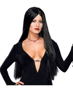 Deluxe the Addams Family Morticia Addams Wig  Wigs TV & Movie for