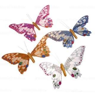 hermosas mariposas de adorno para la casa y jardín (una variedad de