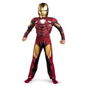 Iron Man 2 (2010) Movie   Mark VI Classic Muscle Child Costume, 69707