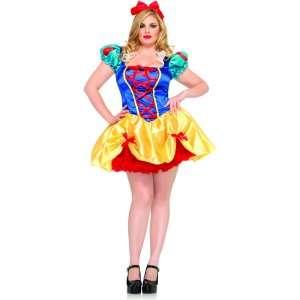 Fairy Tale Snow White Adult Plus Costume, 68400