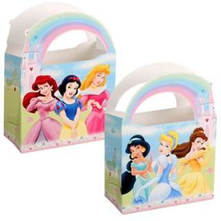 Costumes Disneys Princess Fairy Tale Friends Treat Boxes (4 count