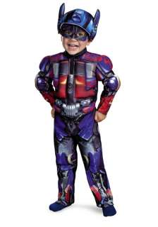 Transformers Optimus Prime Toddler/Child Muscle Costume for Halloween