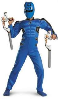 Power Ranger Blue Child Costume Save the world in this Costume