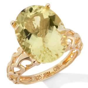 Technibond® Oval Gemstone Ring