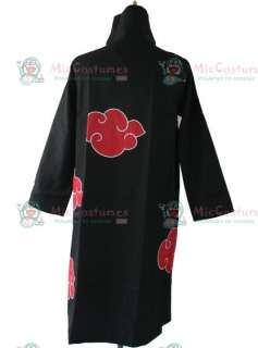 Naruto Uchiha Madara Cloak Cosplay Costume