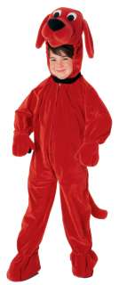 Clifford the Big Red Dog Deluxe Child Costume   Clifford the Big Red
