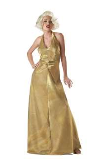 Marilyn Monroe   The Glamorous Marilyn Pleated Dress with Bead