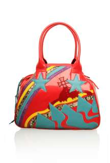 Red Yasmin Rising Orb Tote by Vivienne Westwood Accessories   Red