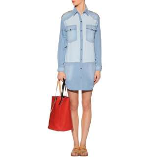 Étoile Isabel Marant   GILDA CHAMBRAY SHIRT DRESS