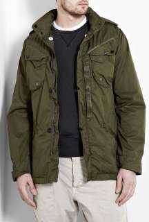 Denham  Khaki Natural Duty Army Jacket by Denham