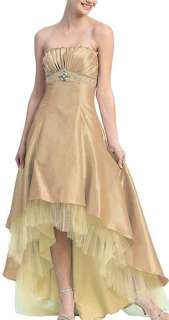 / Short Gold Bridesmaid Cocktail Dress Semi Formal Plus Size