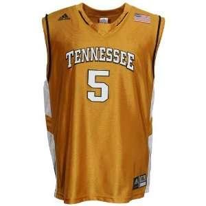 adidas Tennessee Volunteers #5 Orange Youth Replica Basketball Jersey