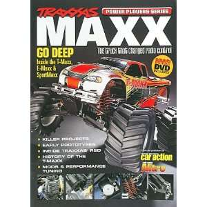Airplane News   Traxxas Maxx Power Players Book w/DVD (Books) Toys
