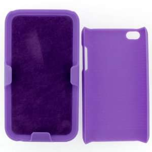 APPLE IPOD TOUCH itouch 4TH GENERATION HOLSTER CASE PURPLE