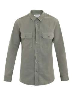 Military shirt  Maison Martin Margiela  Matchesfashion