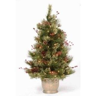 Fir in Pot   Artificial Christmas Tree   Clear Lights