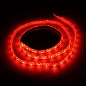 1M 60 LED 3528 SMD Flexible Car DIY Strip Light Waterproof Automotive