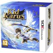 Nintendo 3DS Console (Aqua Blue) Bundle Includes Kid Icarus Games