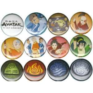 Avatar the Last Airbender Buttons Pins Badges