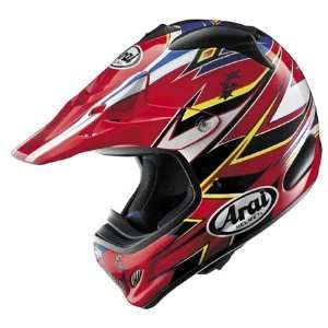 Arai VX Pro 3 Barbed Wire Full Face Helmet XX Large  Red