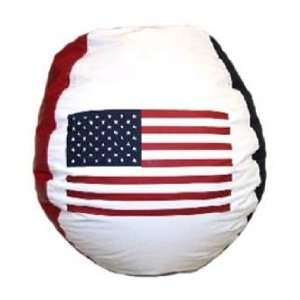 USA Flag Bean Bag Chair