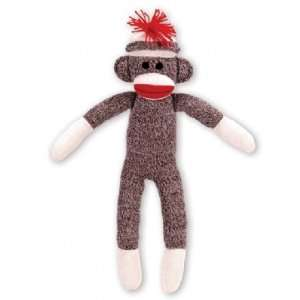 com Sock Monkey Stuffed Toy [Customize with Fragrances like Birthday