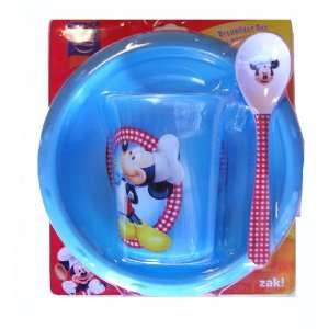 Disney Mickey & Friends Breakfast set   Bowl, Plate and Cereal
