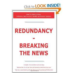Redundancy   Breaking the News   What You Need to Know Definitions
