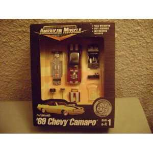 Collectibles American Muscle 69 Chevy Camaro Model kit Toys & Games