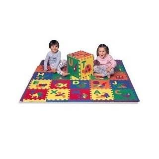 Alphabet ABC 123 Baby Kids Puzzle Play Mat   110 Piece Set Large Baby