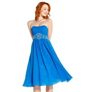 Strapless Prom Holiday Party Cocktail Dress Bridesmaid Gown Clothing