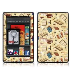 Skin Sticker   High Gloss Coating for  Kindle Fire (7 inch Color