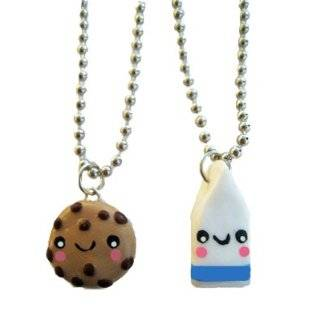 Cookies and Milk Best Friends Necklace   Set of 2 Included