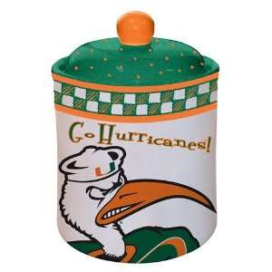 Miami Hurricanes Gameday Ceramic Cookie Jar