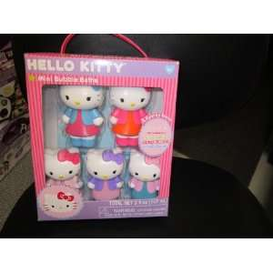 Hello Kitty Mini Bubble Bath Decanters   Set of 5 Toys & Games