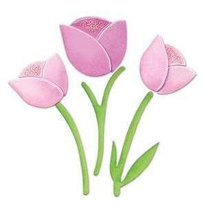 Sizzix Originals Die   655966 Tulip #2 Arts, Crafts