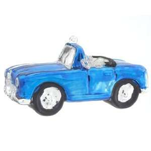 Personalized Blue Car Christmas Ornament