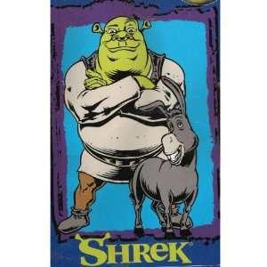 Shrek & Donkey Royal Plush Raschel Blanket Throw