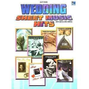 Wedding Sheet Music Hits Easy Piano (9781843287575) Dan Coates Books