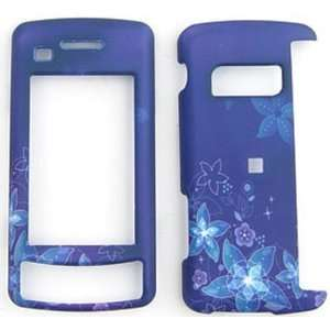 LG ENV Touch VX11000 Flowers on Blue Background Hard Case