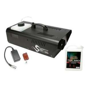 DRAGON1200 Fog Machine with Wired Remote Control and Scented Fog Juice