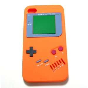 Orange Nintendo Game Boy Gameboy Style Silicone Case Cover