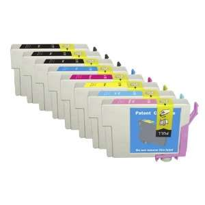8 Pack. Compatible Cartridges for Epson (not Epson brand