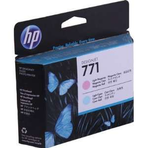 Hewlett Packard 771 Printhead Magenta/Light Cyan High