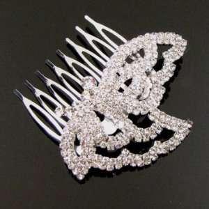 Austrian Rhinestone Hair Comb [Rc18]