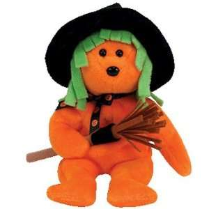 TY Beanie Baby   SPELLS the Halloween Bear (Internet