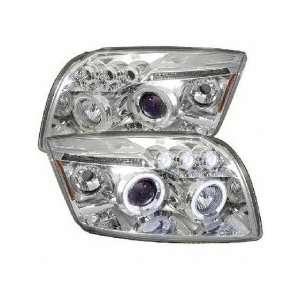 06 08 Dodge Caliber Halo LED Projector Head Lights