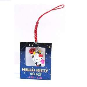 Taurus Hello Kitty Zodiac Cell Phone Charm (4/20   5/20